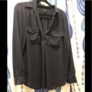 Ann Taylor size Large navy blue top